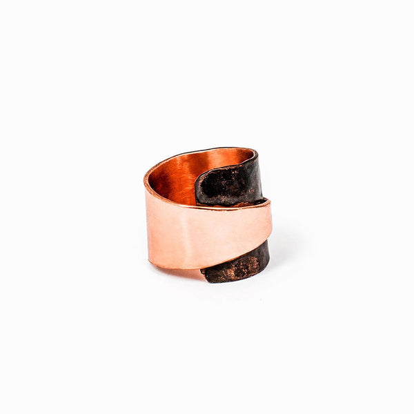 Copper Wrap Ring