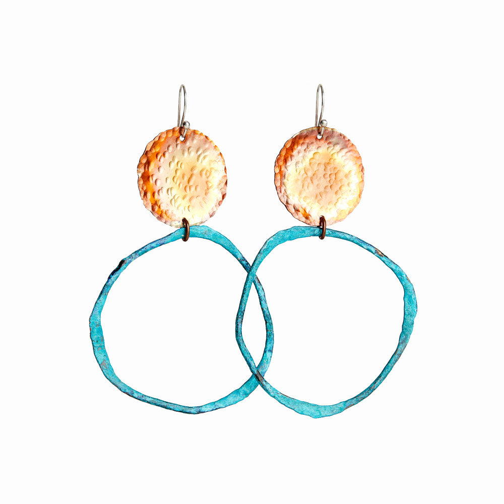Long Sol Cirque Earrings