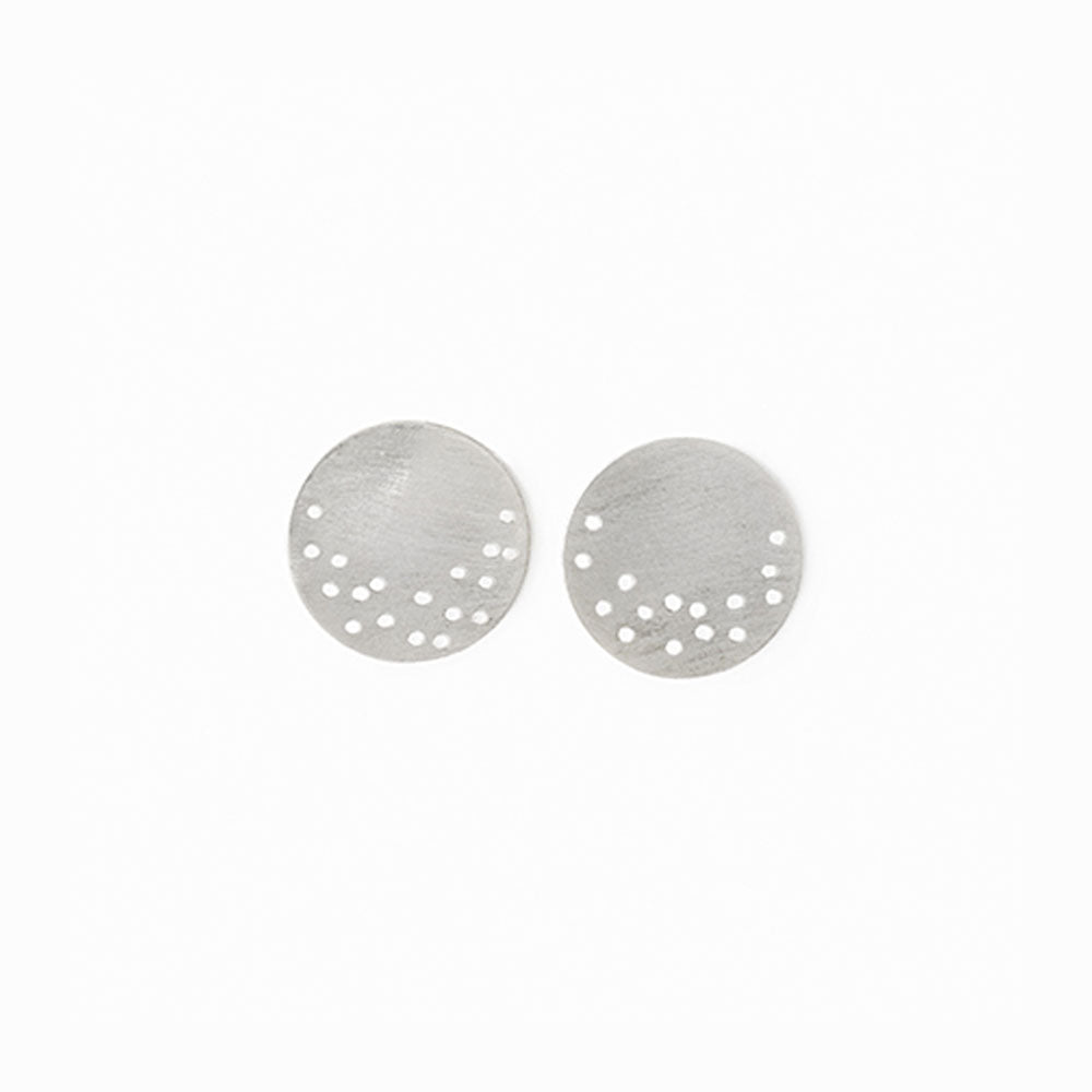 Moon Dust Stud Earrings