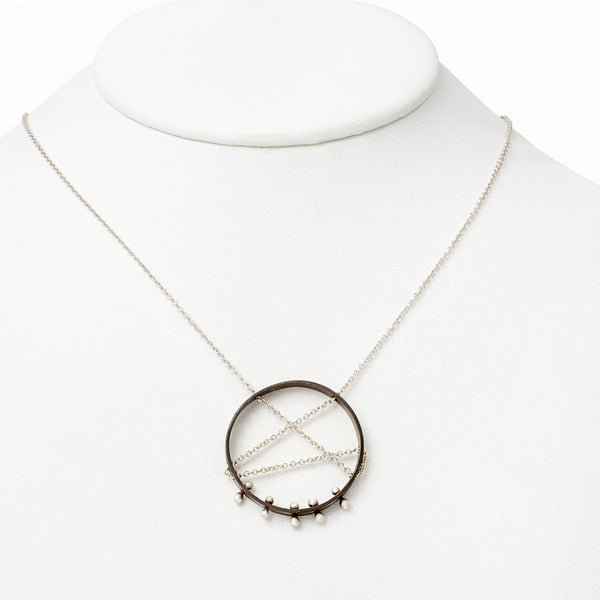 Moonscape Pendant Necklace