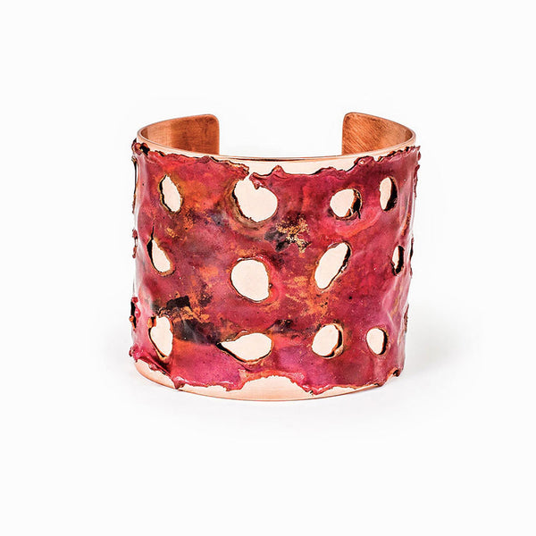 Red Sea Copper Cuff Bracelet