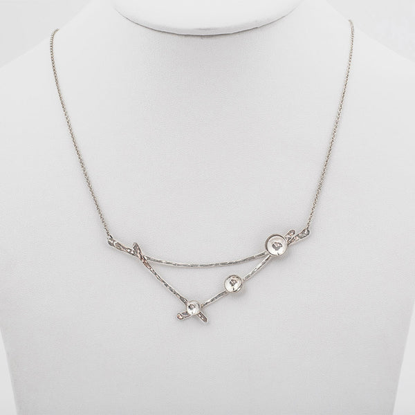 Silver Dewdrop Necklace