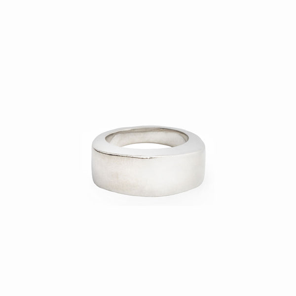 Elke Van Dyke Design Solid Barrel Ring Side View