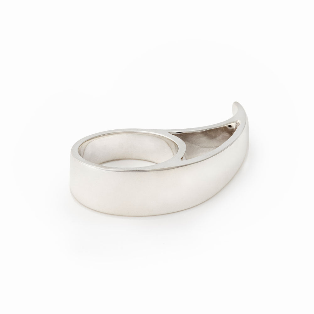 Tsunami Sterling Silver Ring