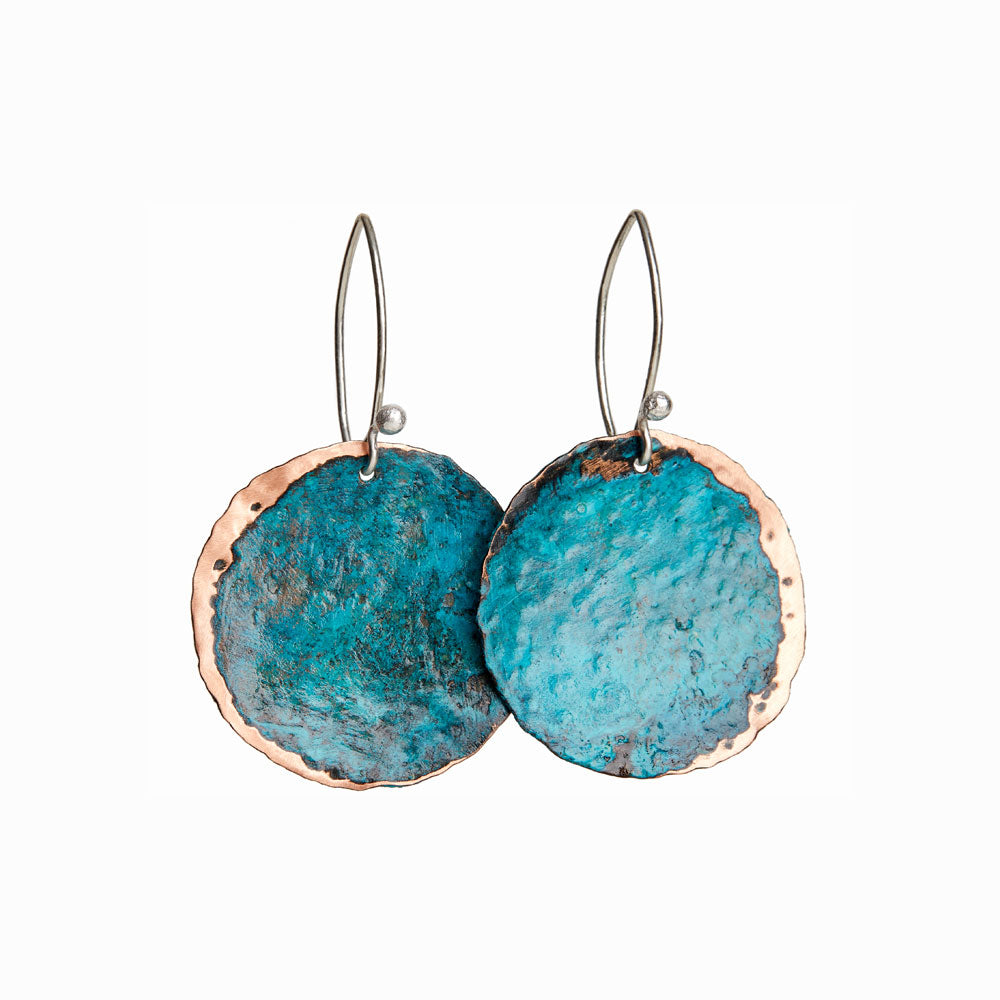 Turquoise Cresent Earrings