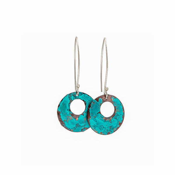 Turquoise Dome Earrings