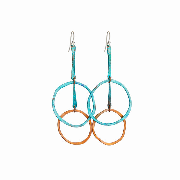 Turquoise Sea Cirque Earrings