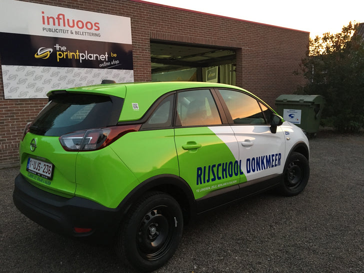 carwrap fleetmarketing belettering influoos
