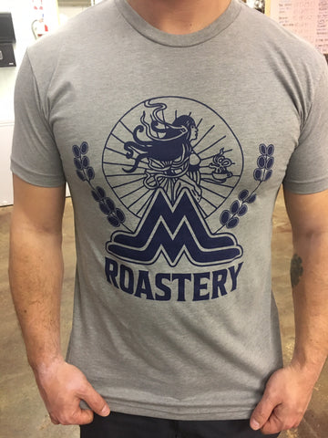 Roastery t-shirt with Classic Mama logo
