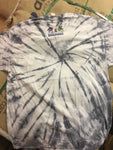 2020 STAY STRONG TYE DYE T-SHIRT (grey / white - HEAVY material)