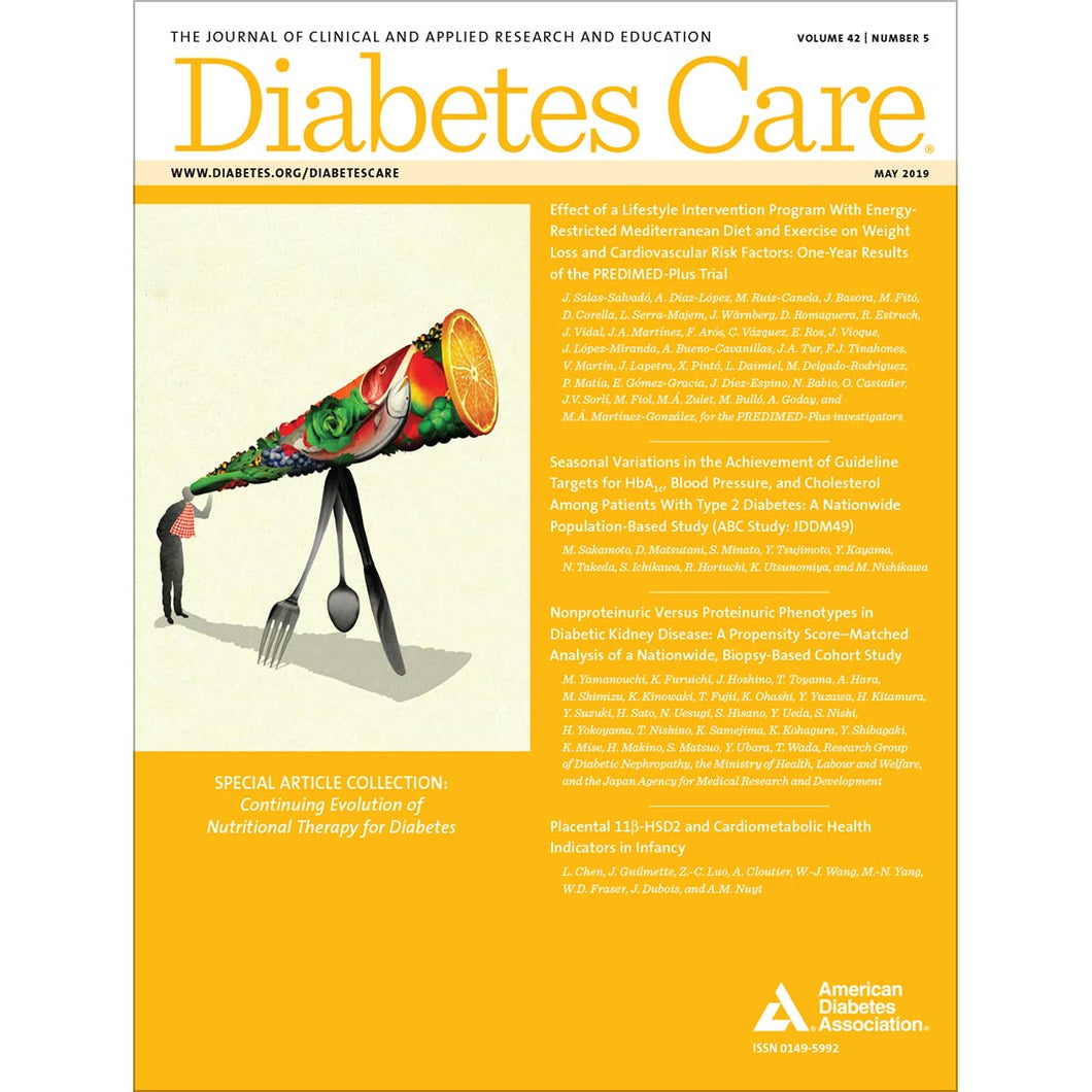 Diabetes Care, Volume 42, Issue 5, May 2019