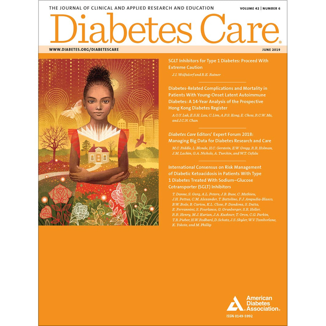 Diabetes Care, Volume 42, Issue 6, June 2019