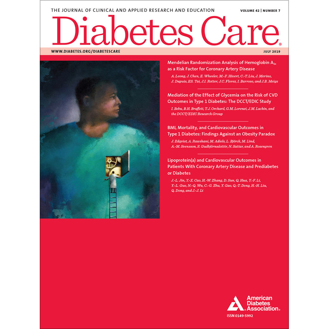 Diabetes Care, Volume 42, Issue 7, July 2019