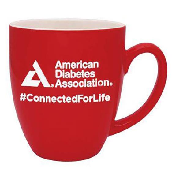 American Diabetes Association Coffee Mug, Red