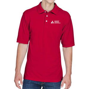 American Diabetes Association Men's Polo, Red