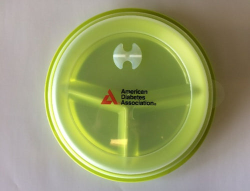 American Diabetes Association Portion Control Plate with Lid