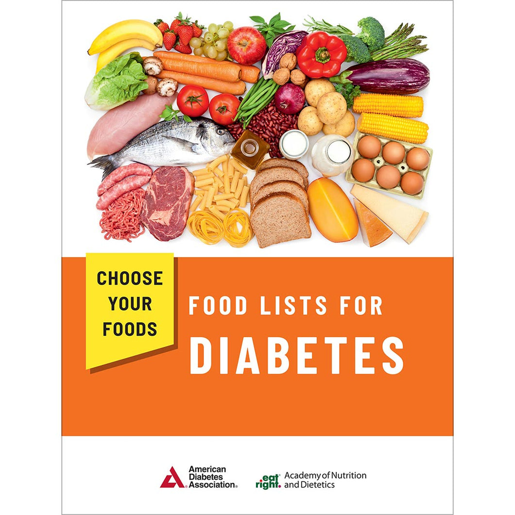 Choose Your Foods: Food Lists for Diabetes, 5th Edition