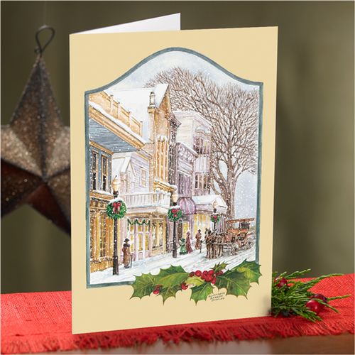 Christmas Past Cards (20/Box)
