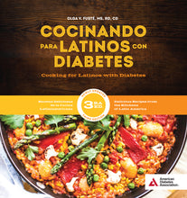 Load image into Gallery viewer, Cocinando para Latinos con Diabetes, 3rd ED