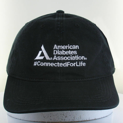 American Diabetes Association Washed Twill Cap, Black