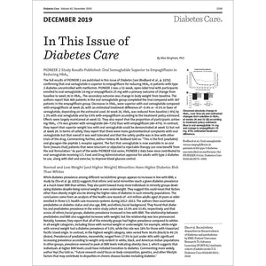 Diabetes Care, Volume 42, Issue 12, December 2019
