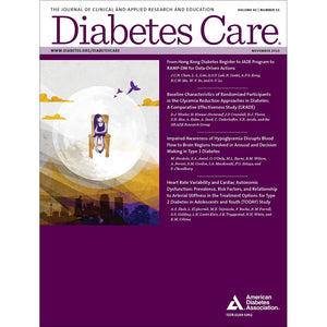 Diabetes Care, Volume 42, Issue 11, November 2019