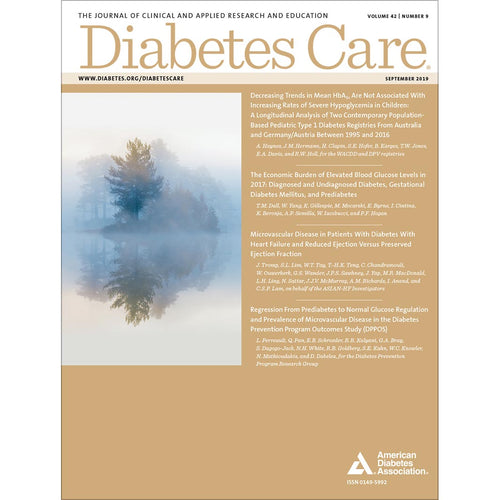 Diabetes Care, Volume 42, Issue 9, September 2019