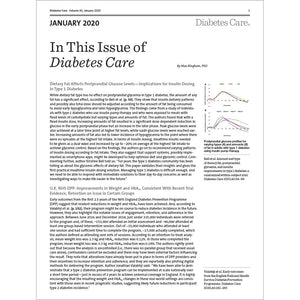 Diabetes Care, Volume 43, Issue 1, January 2020