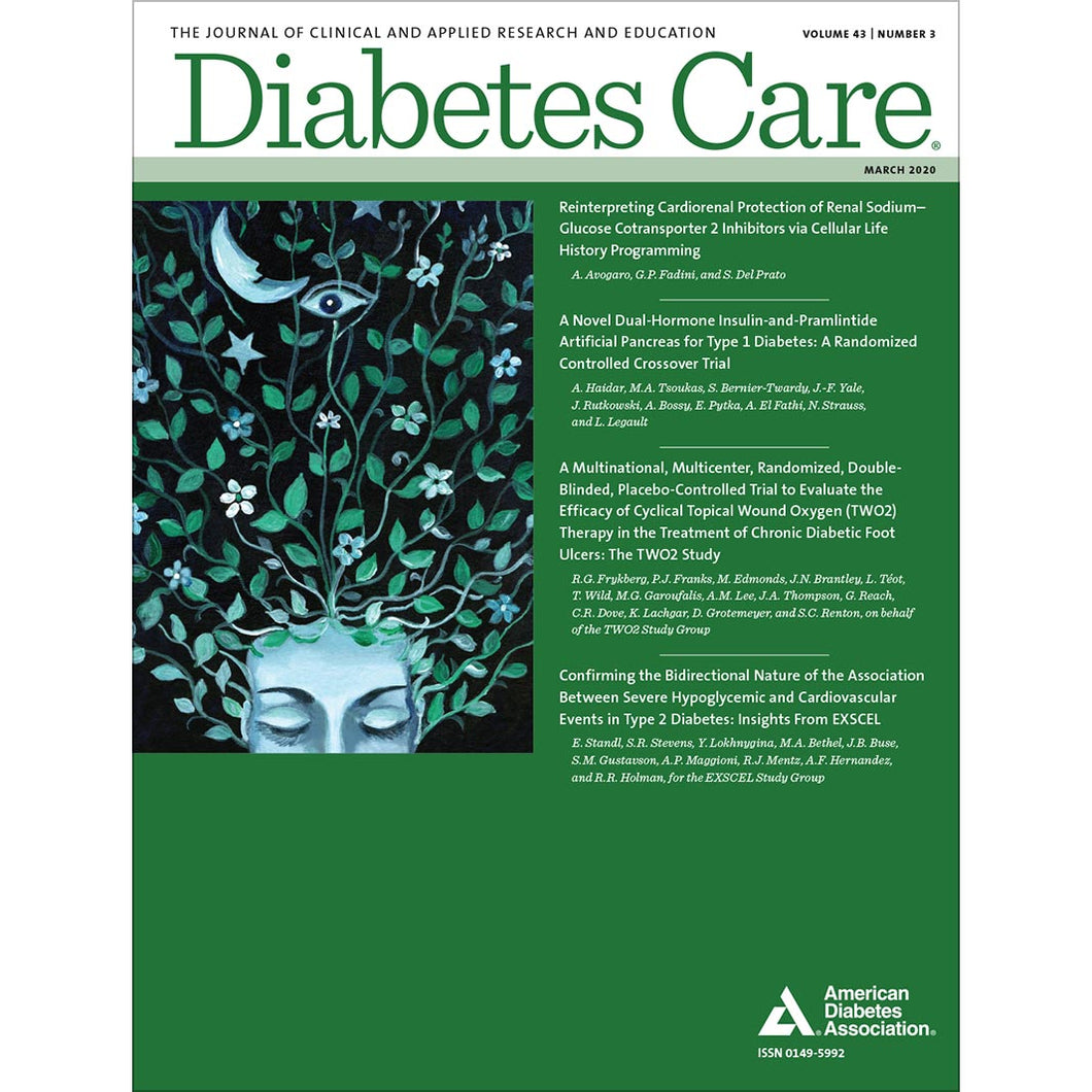 Diabetes Care, Volume 43, Issue 3, March 2020