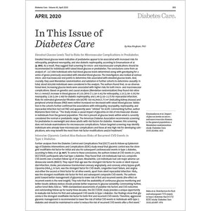 Diabetes Care, Volume 43, Issue 4, April 2020