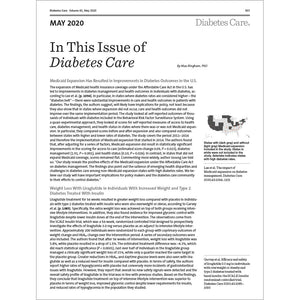 Diabetes Care, Volume 43, Issue 5, May 2020