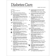 Load image into Gallery viewer, Diabetes Care, Volume 43, Issue 5, May 2020