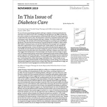 Load image into Gallery viewer, Diabetes Care, Volume 42, Issue 11, November 2019