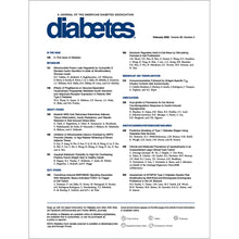 Load image into Gallery viewer, Diabetes Journal, Volume 69, Issue 2, February 2020