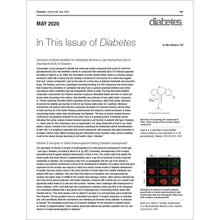 Load image into Gallery viewer, Diabetes Journal, Volume 69, Issue 5, May 2020