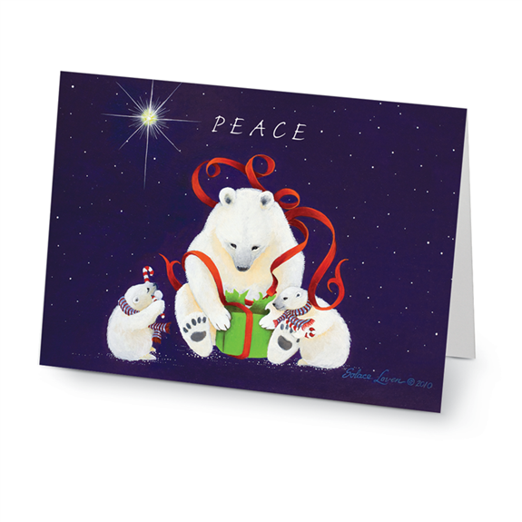 Peaceful Polar Bears Cards (20/Box)