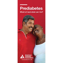 Load image into Gallery viewer, Prediabetes: What is it and What Can I Do? Brochure (Bilingual) (50/pkg)