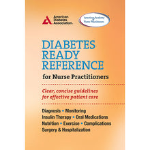 Load image into Gallery viewer, Diabetes Ready Reference for Nurse Practitioners