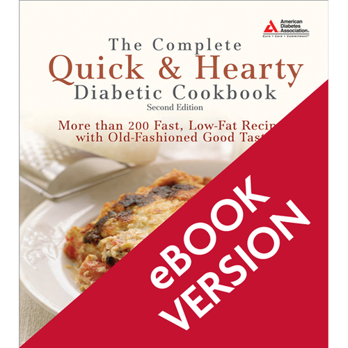 The Complete Quick & Hearty Diabetic Cookbook, 2nd Edition (ePub)