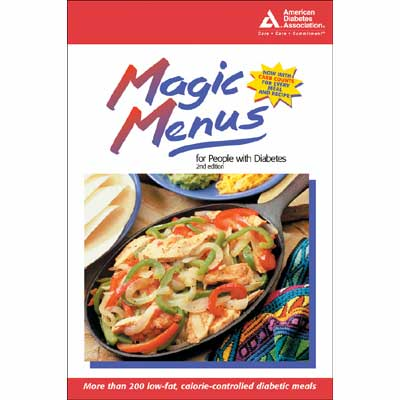 Magic Menus for People with Diabetes, 2nd Edition