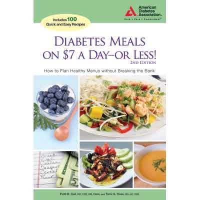 Diabetes Meals on $7 a Day or Less!, 2nd Edition
