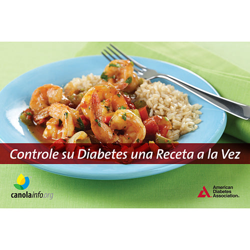 Control Your Diabetes One Recipe at a Time (Spanish)