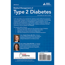 Load image into Gallery viewer, Medical Management of Type 2 Diabetes, 7th Edition
