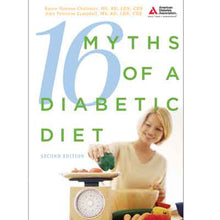 Load image into Gallery viewer, 16 Myths of a Diabetic Diet, 2nd Edition