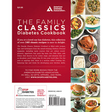 Load image into Gallery viewer, The Family Classics Diabetes Cookbook