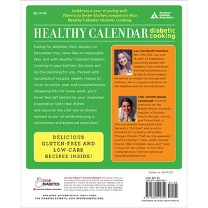 Healthy Calendar Diabetic Cooking, 2nd Edition