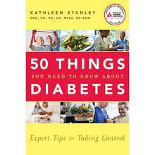 Load image into Gallery viewer, 50 Things You Need to Know About Diabetes