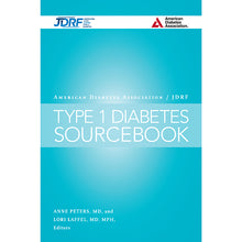 Load image into Gallery viewer, American Diabetes Association/JDRF Type 1 Diabetes Sourcebook