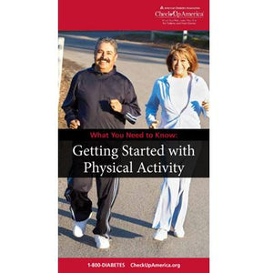 What You Need to Know: Getting Started with Physical Activity Brochure (50/Pkg)