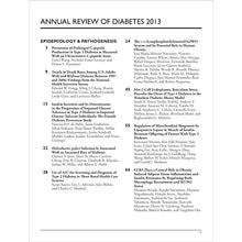 Load image into Gallery viewer, Annual Review of Diabetes 2013